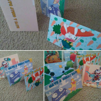 summer card project printed by SolomonMars