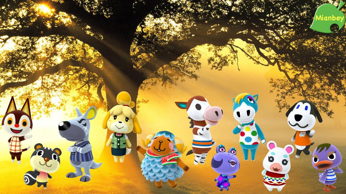Animal Crossing - MidniteAndBeyond Wallpaper by MidniteAndBeyond