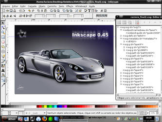 Inkscape tester 'Opensource' by Maddrum