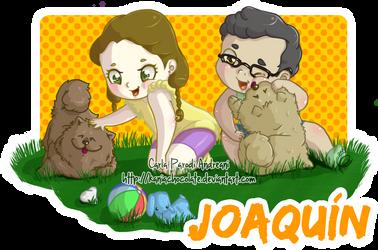 Loli Zenon y perritos version estampado by kaniachocolate