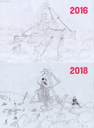Esqueleto by AkiszikosBowl