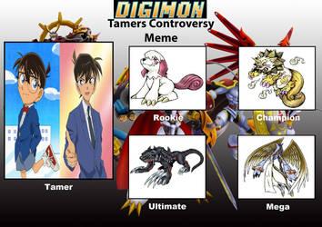 DCDB's Digimon Tamer Project CE by DanomaruZenon