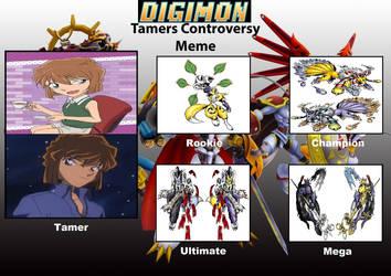 DCDB's Digimon Tamer Project AH by DanomaruZenon