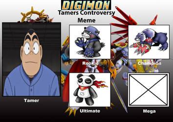 DCDB's Digimon Tamer Project GK by DanomaruZenon