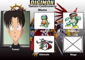 DCDB's Digimon Tamer Project MT by DanomaruZenon
