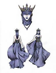 Raven Queen by thomden