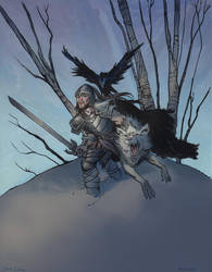 Jon Snow Knows Nothing by thomden