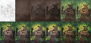 Cursed  - the process by wysoka
