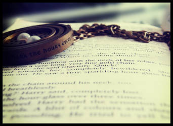 It's a time turner Harry by angeldementor