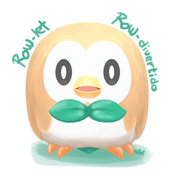 Furby Rowlet by Marukomaru