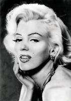 Marilyn Monroe's portrait by Stanbos