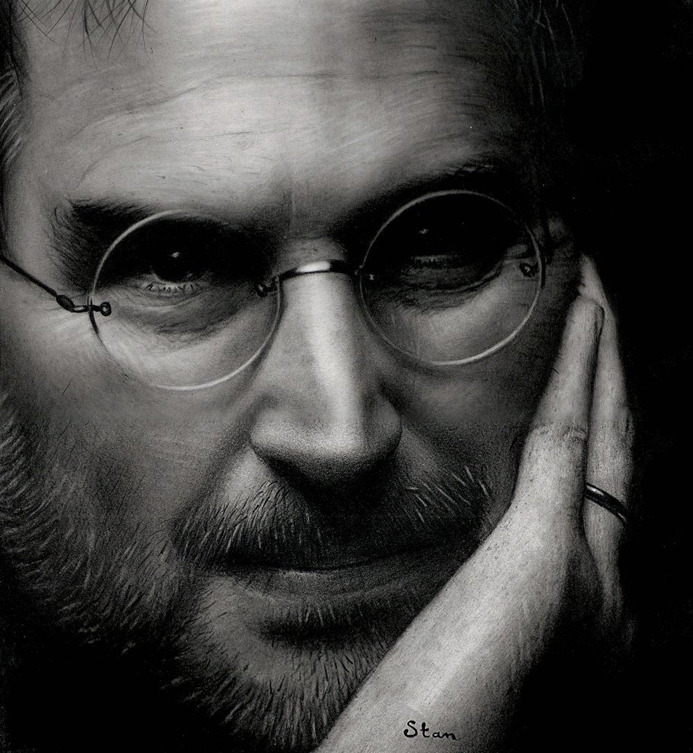 Steve Jobs by Stanbos