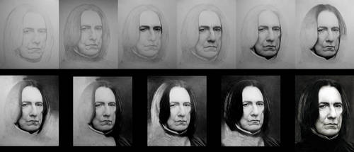 Severus Snape - WIP by Stanbos