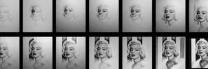 Marilyn Monroe - WIP by Stanbos