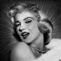 Marilyn Monroe - Pooh pooh bee doo ! by Stanbos