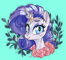 Rarity Month 2017 by TwitchyKismet