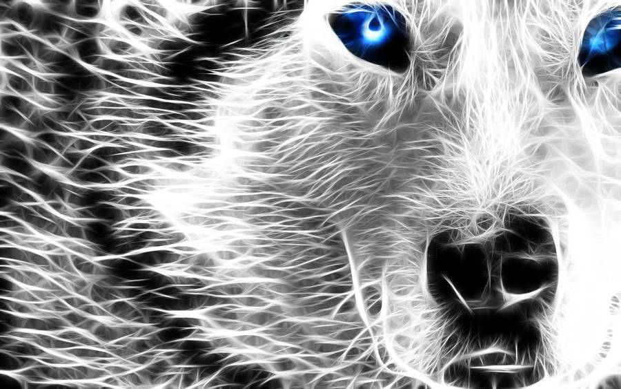 Mystical Wolf by RiegersArtistry