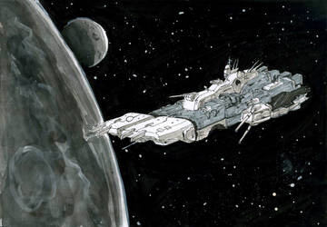 Inktober #25 Ship by pfs-kun