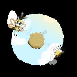 Buzz Puffs by Nerdy-Cupcake