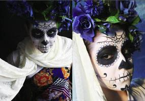 Sugar Skull by SelyaMakeup