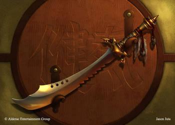 L5R - Moto Kang's Sword by jasonjuta