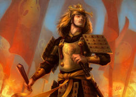 L5R: Lion Clan Tactician by jasonjuta