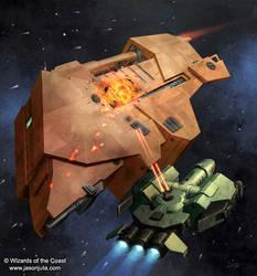 Piracy in Deep Space by jasonjuta