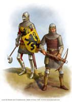 Crecy Troops by jasonjuta
