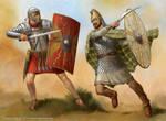 Roman vs Dacian by jasonjuta