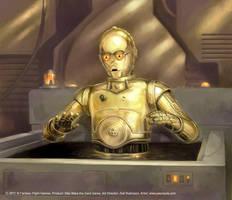 C3PO by jasonjuta
