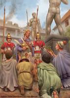Alexander at Miletus by jasonjuta