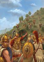 Battle of Thermopylae 191 BCE by jasonjuta