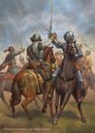 Spanish and Dutch cavalry by jasonjuta