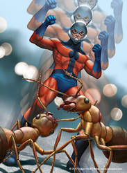 Ant Man by jasonjuta