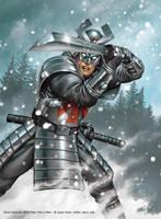 Silver Samurai by jasonjuta