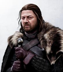 Lord Eddard Stark by hello-ground
