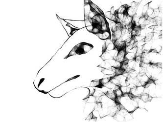 Fantasy sheepwolf by FaroSamor