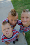 Mohawk Nephews by doncroswhite