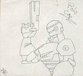 Robocop by doncroswhite