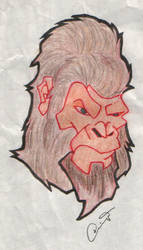Gorilla Don by doncroswhite