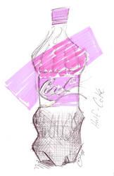 Half A Coke by doncroswhite