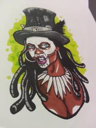 Voodoo girl by Artchivist