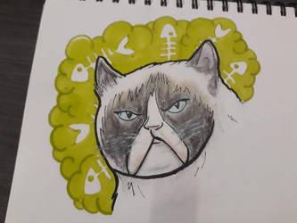 grumpy cat by Artchivist