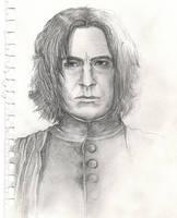 Early Severus Sketch 1 by dixiekasilke