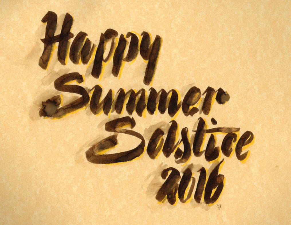 Happy Summer Solstice 2016 by dixiekasilke