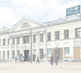 Rendezvous in Tartu. Central cinema by htj0rvald
