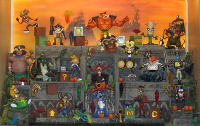 Crash Bandicoot action figures collection by dreelrayk