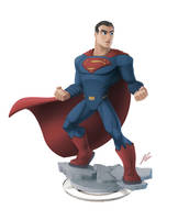 Man of steel - Disney Infinity style by dreelrayk