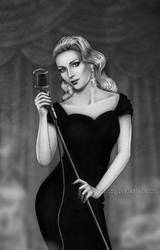 Noir Singer by Isbjorg