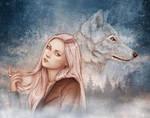Wolf Girl by Isbjorg